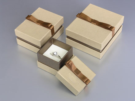 Jewelry Paper Gift Box/square box/Folding jewelry box/Rectangular jewel box Supplier EECA From China