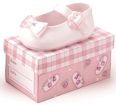 Rectangular pvc gift box custom cute shoe packaging box/baby shoe box wholesale in EECA packaging