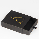 Black paper drawer shoe packaging box/drawer gift box supplier