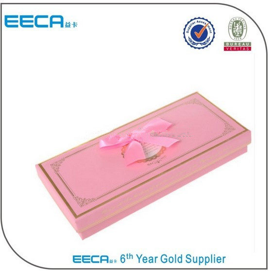 2017 rectangular gift box unique design custom printed make up packaging paper box made in china