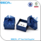 Square box/Jewellery accessories blue earring box/hand painted clear jewelry boxes wholesale