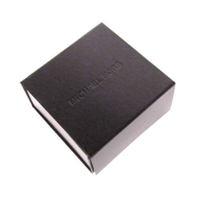 2017 black Square gift box magnet box paper foldable cardboard box/flat packing box/Perfume paper boxes China supplier