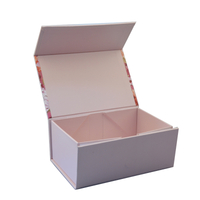 China color rectangular gift box paper foldable gift boxes/flat packing box supplier