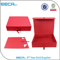 Luxury Water Proof Box with Ribbon /Magnetic Foldable Gift Cardboard Box/ribbon boxes
