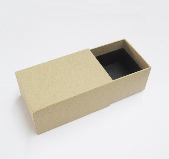 2017 Rectangular gift box/Drawer gift box/Nice Jewelry Paper Box/Kraft paper drawer box Made In China
