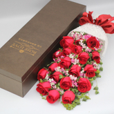 Waterproof Long Paper Box For Flower Rectanglular Flower gift packaging hat box flower bouquets packaging / flower box luxury made in China