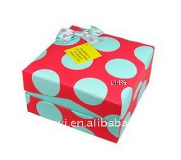 2017 Selling Like Hot Cake Paper Box/Square gift box