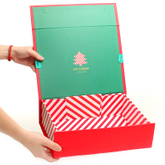 Foldable storage box/red folding box/foldable gift box/flexible packaging box/custom flat box/foldable magnetic gift box in EECA Packaging China