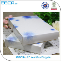 2017 China Supplier Cosmetics carton Cheap Beautiful Custom Printed Make Up Paper Box