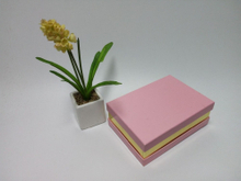 Rectangular gift box Glossy gold paper printed pink cardboard gift packaging box/square box in china