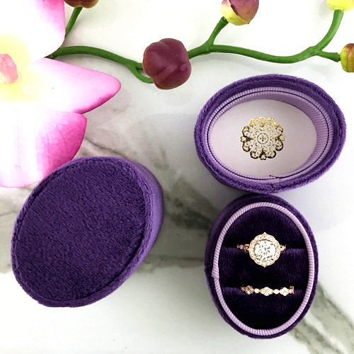 oval ring box velvet (3)