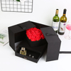 Custom Opening Flower Gifts Box With Logo,Double Opening Gift Box,Flower Packaging Round Boxes