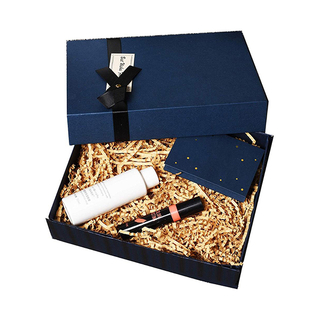Custom Luxury Printed Cardboard Paper Makeup Packaging Gift Box For Cosmetics